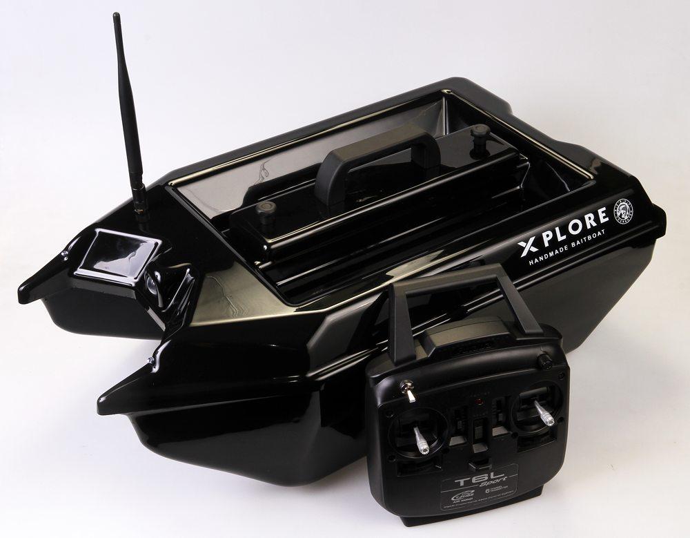 De Xplore Baitboat van Berns Voerboten is nu beschikbaar in een zwarte uitvoering.