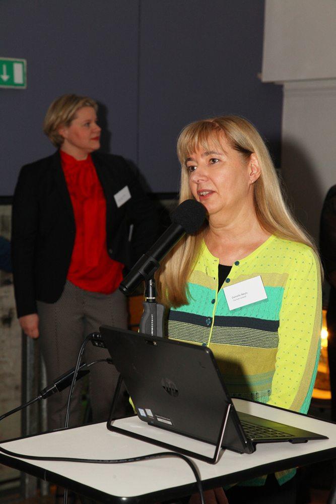 Danielle Neyts (Toerisme Ierland, Brussel) vertelde over de plannen voor het komende jaar.