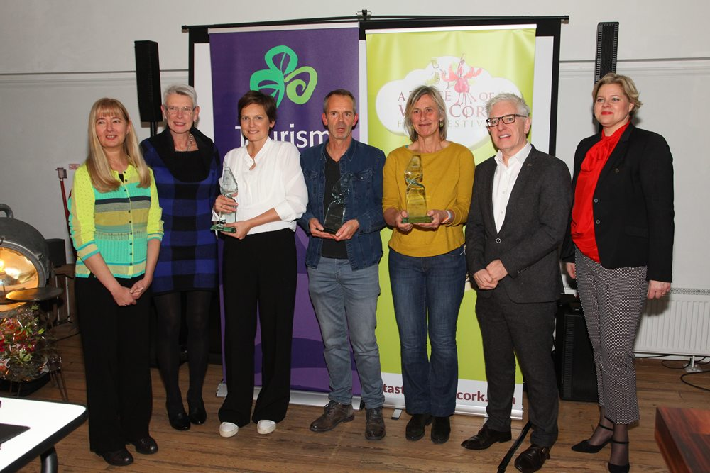 Helaas konden niet alle award-winnaars aanwezig zijn.