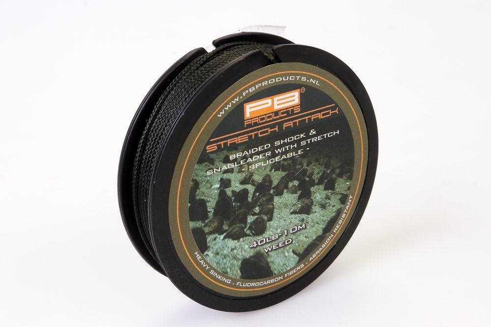 PB Products introduceert een viertal nieuwe producten op Carp Zwolle: Stretch Attack, Silk Wire, Bait Floss en Hollow Kevlar.