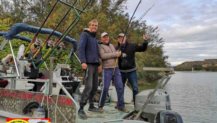 Seizoen bijna ten einde bij Catfish Camp Caspe