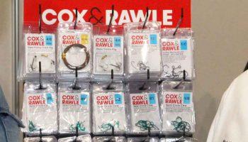 Cox & Rawle, producent van klein materiaal voor het zeevissen, heeft de firma UltraCast aangesteld als distributeur voor haar producten in België, Nederland, Luxemburg en Frankrijk.
