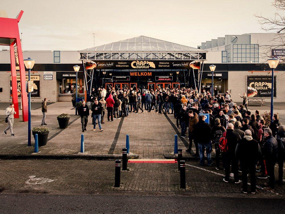 Op 1, 2 en 3 februari openen de deuren van de IJsselhallen zich voor drie dagen lang karpergeweld.