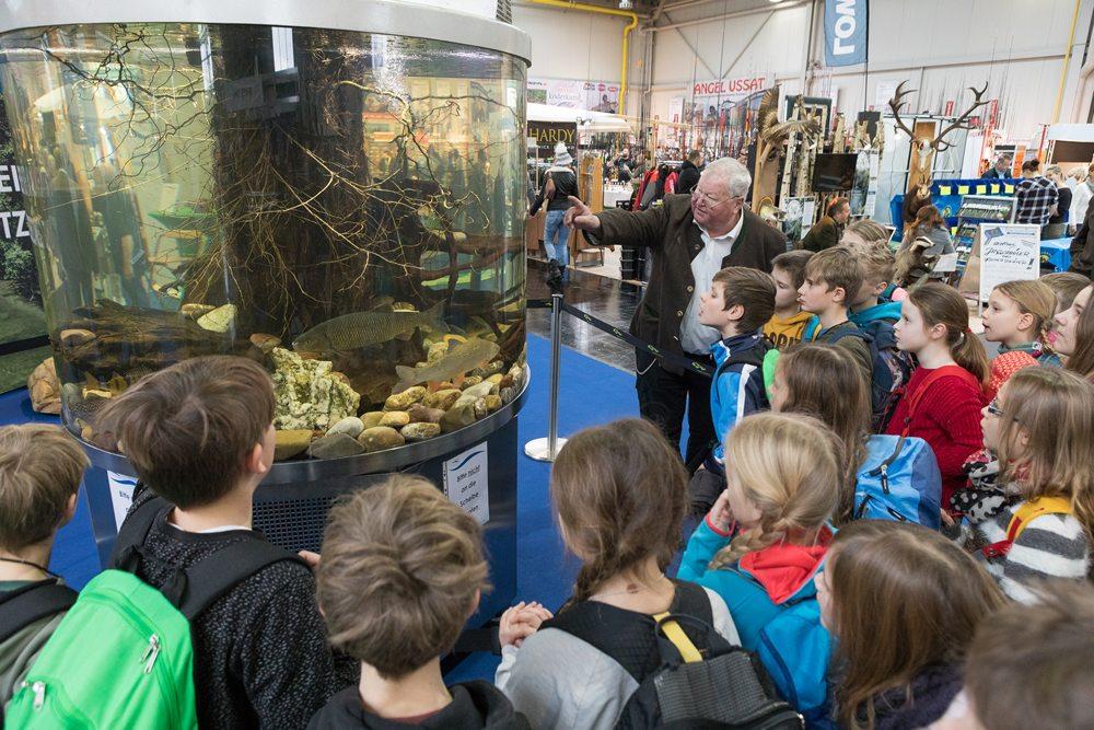 Jagen und Fischen betekent een informatief dagje uit voor jong en oud.