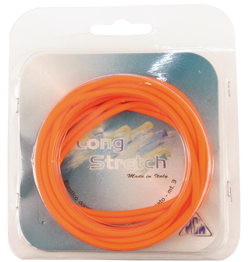 MCM Solid Elastic wordt geleverd op spoeltjes van zes meter, wat voldoende is voor twee tot drie hengeltoppen.