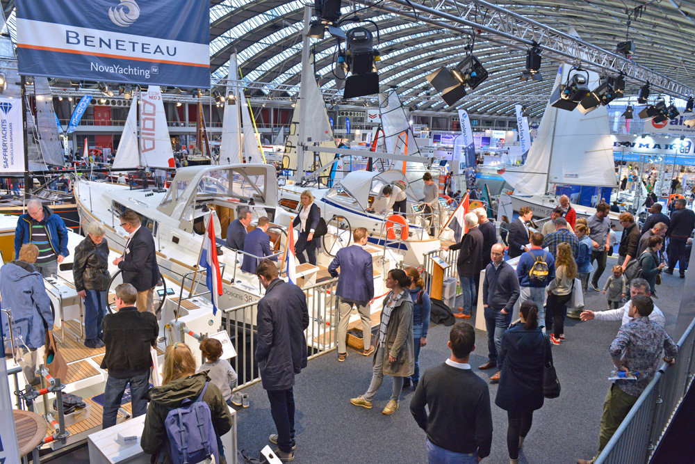 De HISWA Amsterdam Boat Show is het grootste jaarlijkse watersportevenement van Nederland.
