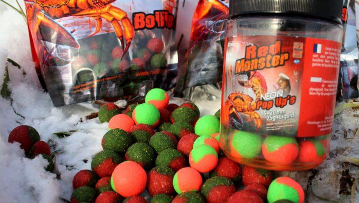 Red Monster boilies: monsterlijk goed!