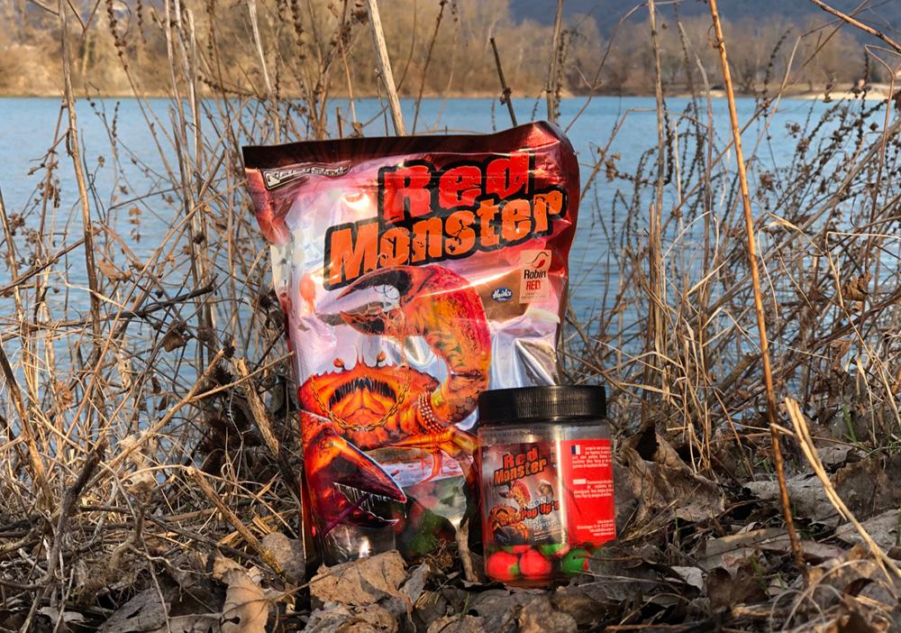 Red Monster - De 'Red' en 'Monster' zijn twee compleet verschillende mixen die nu voor het eerst gecombineerd zijn binnen de Radical range aan boilies.