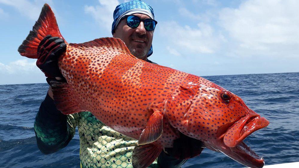 Kenia - In maart en april worden vaak de grotere exemplaren van de verschillende vissoorten gevangen, ideaal voor de specimen jagers.