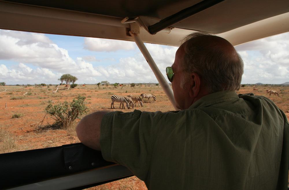 Kenia - Ronald en Tine de Jager adviseren om bij aankomst in Nairobi een privé-safari te nemen om te acclimatiseren, vaak is het super om de vrouw / vriendin op reizen als deze mee te nemen.