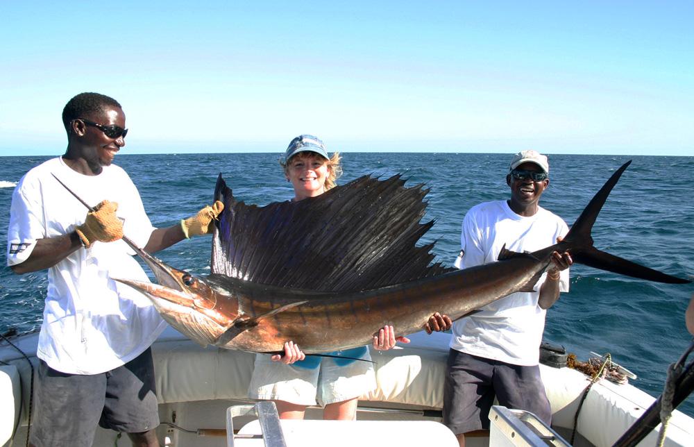 Kenia biedt volgens Ronald en Tine de beste light tackle en big game visserij van de wereld!