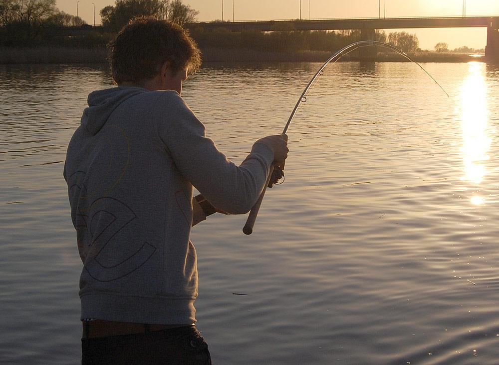 winde korstvissen rivier