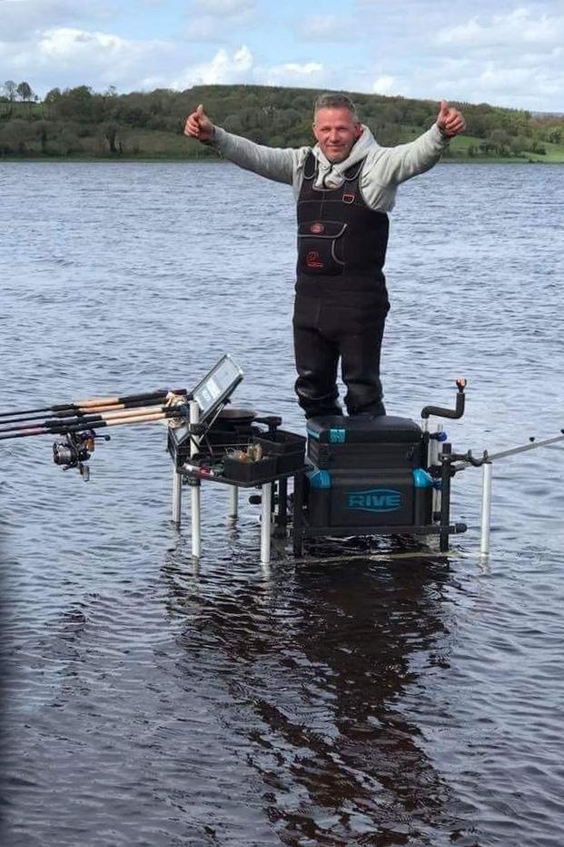 Mijn medium feederhengels voor Ierland hebben een lengte van 3,30 meter en 3,60 meter.