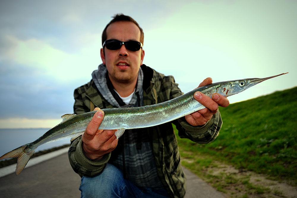 vissen zonder haak