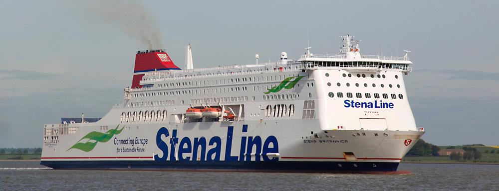 Vijf vragen aan André Multem - De Stena Line vaart met meerdere boten tussen Hoek van Holland en Harwich.