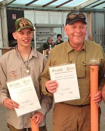 De achttien jarige Giani Devooght en de jarige Guido Vinck.