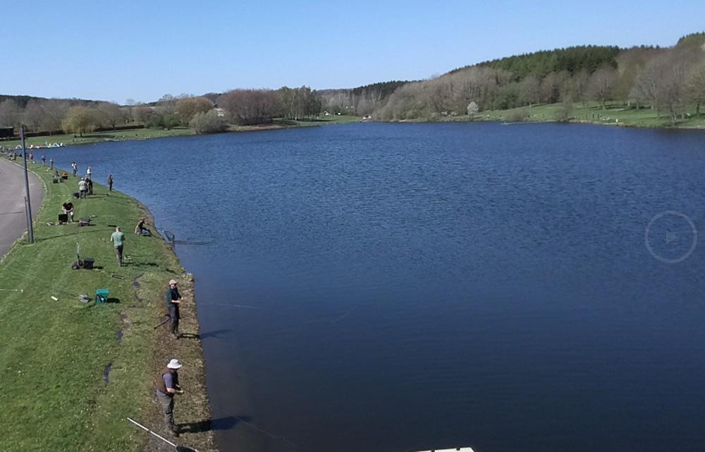 Deze Grote Prijs is zonder meer de grootste Europese reservoirwedstrijd vanaf de oever met als 'speelruimte' de twee meren van Weiswampach.