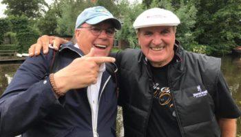 Bob Nudd, viervoudig wereldkampioen witvissen, vist dit jaar de King of Clubs in Ierland. Op de oevers van de Hollandsche IJssel in Haastrecht bevestigde hij recentelijk zijn deelname.