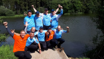 Ramon Ansing Europees Kampioen Vissen, Team Holland pakt brons