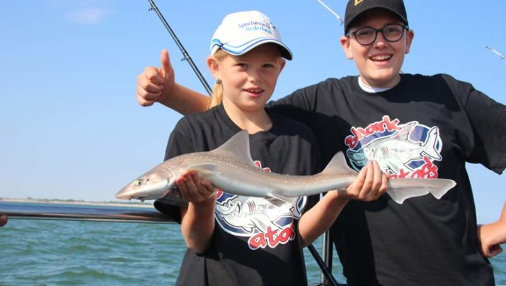 Wil jij haai vangen? De jeugdboot bij Sharkatag!