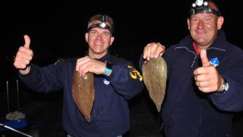 Hoe moet je (in het donker) op tong vissen?
