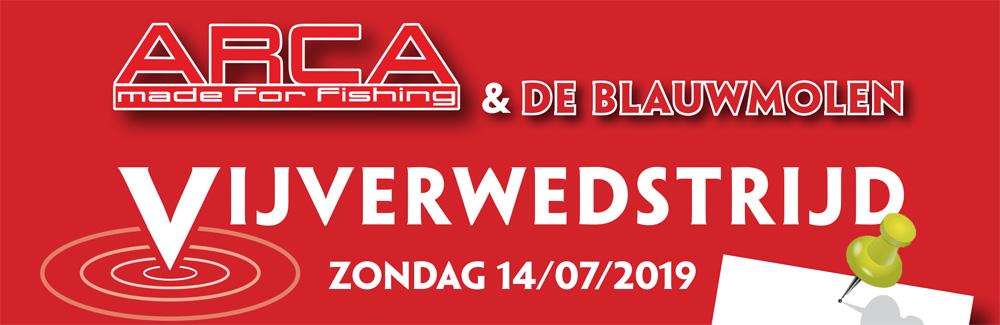 Groothandel Arca en Visvijvers De Blauwmolen in Nieuwrode in België organiseerden op zondag 14 juli een grote vijverwedstrijd.