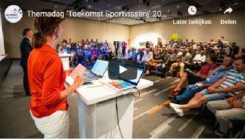 Themadag 'Toekomst Sportvisserij' drukbezocht (video)