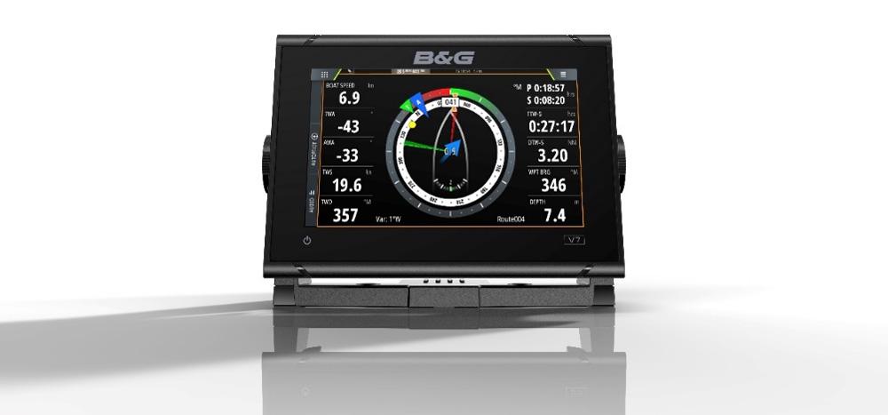 De B&G Vulcan is een voordelige kaartplotter die is ontworpen voor recreatief kustgebruik.