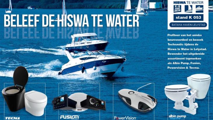Technautic is terug op de HISWA TE WATER