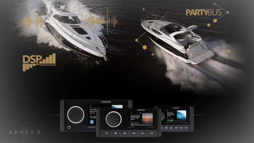FUSION Marine Audio entertainment