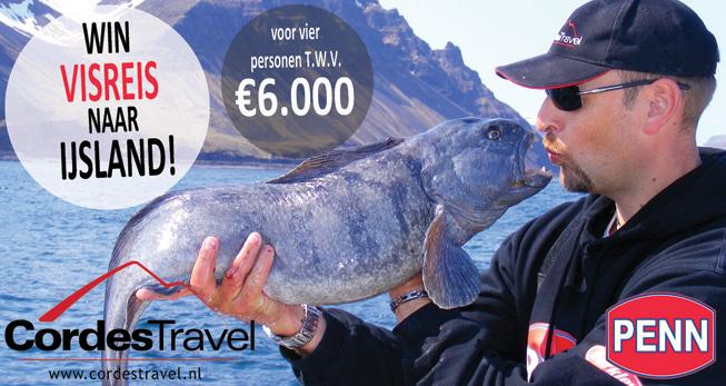 Tevens maak je kans op een geweldige visreis naar IJsland t.w.v. € 6.000,-.