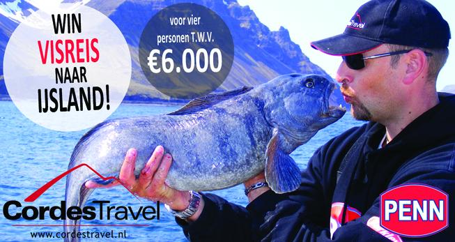 Tevens maak je kans op een geweldige visreis naar IJsland t.w.v. € 6.000,-!