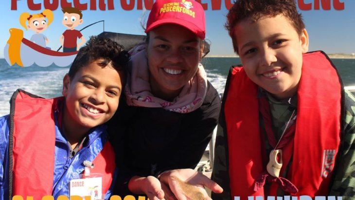 Fotoverslag visdag met kinderen van Scouting Menno Simonz in IJmuiden