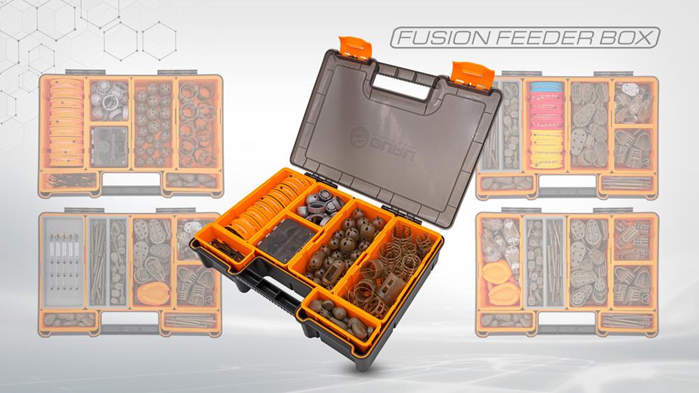 Daarnaast presenteert dit merk ook verschillende nieuwe items, zoals de revolutionaire Fusion Feeder Box, X-Case en Q-Case.