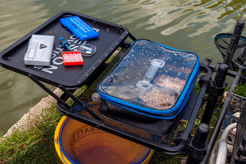 In samenwerking met De Sportvisser Den Haag zijn de producten van Preston Innovations te vinden op stand nummer 117/118.