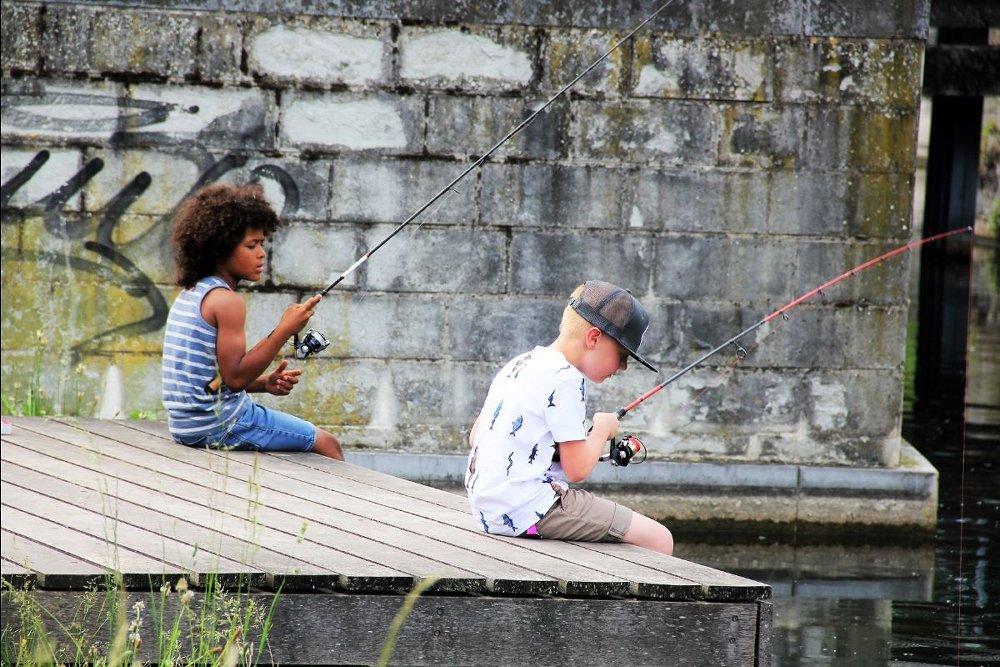Maak kennis met de inheemse roofvissen en volg demonstraties van verschillende montages en technieken voor het vissen in de stad.