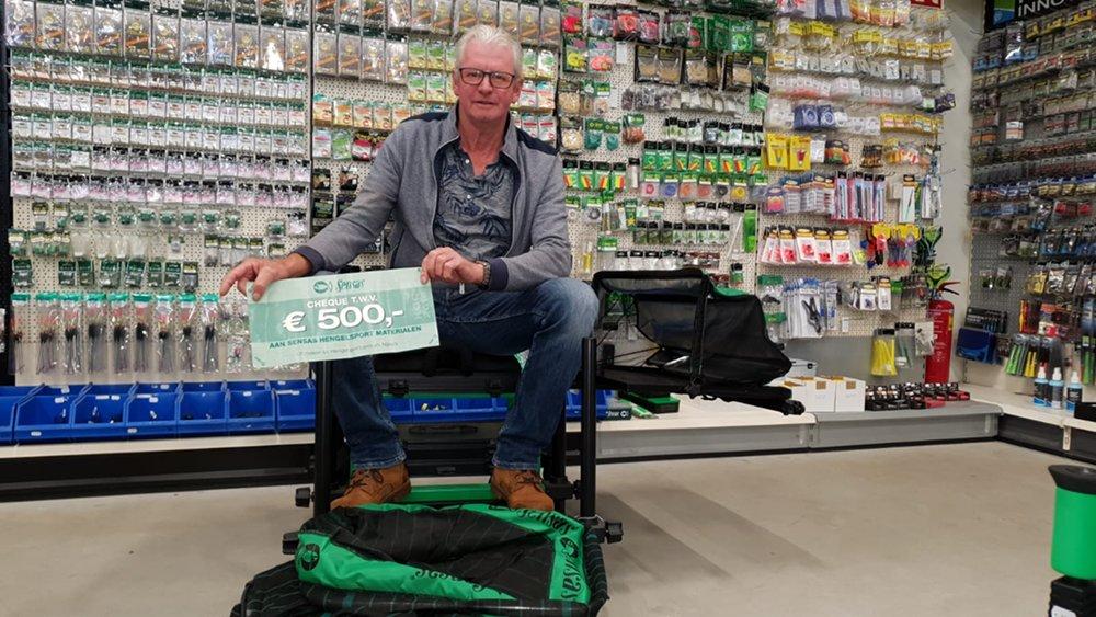 Willem van der Helm heeft zijn prijzen al uitgezocht.
