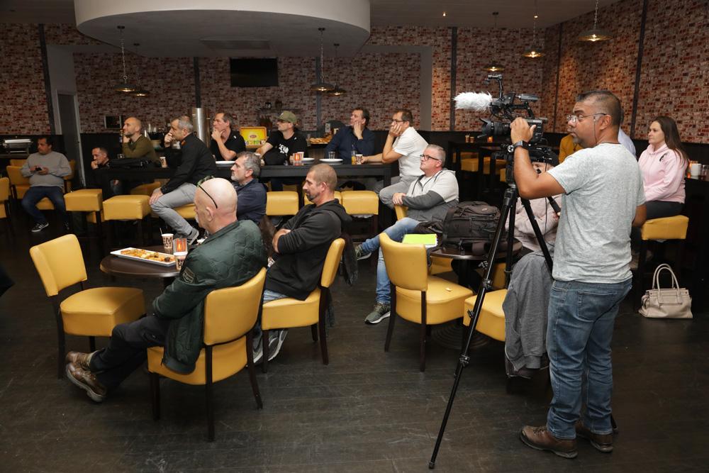 Persmeeting Carp Zwolle 2020.