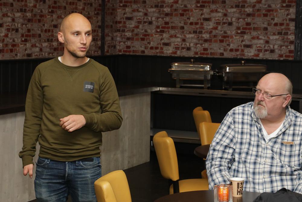 Jos Benders: Ook de Carp Zwolle App blijft belangrijk voor de promotie van de beurs.