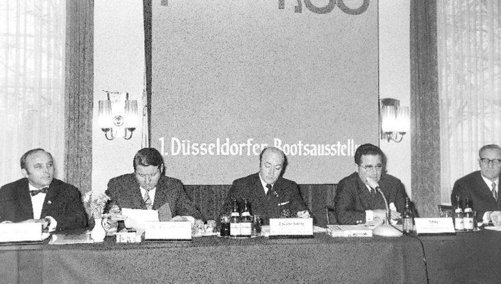 Vijftig jaar geleden: start van de eerste boot Düsseldorf