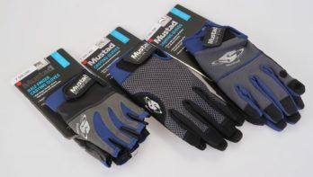 Extra versterkte handschoenen van Mustad