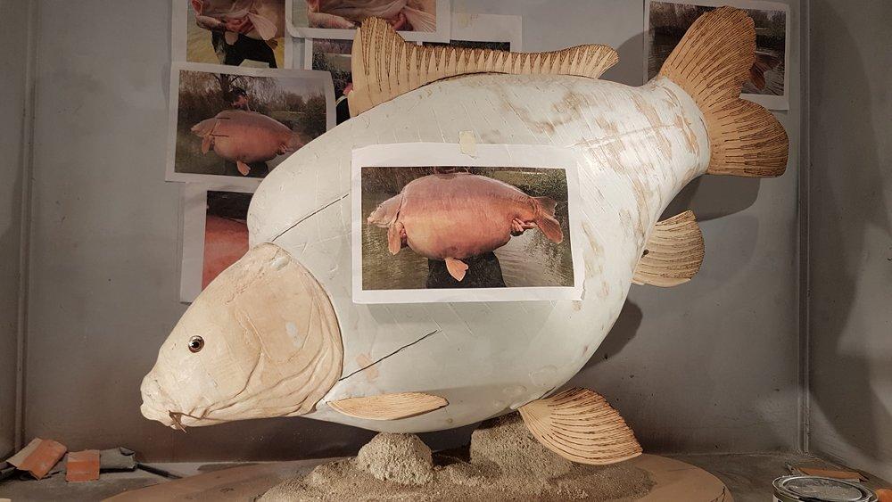 Zoals elk jaar zullen er op de stand van Fish Carving vele levensechte houtsnijwerken van diverse sportvissen te zien zijn.