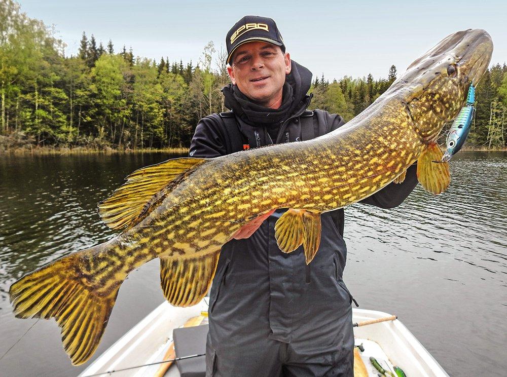 Inmiddels is de vangkracht van de Ripple Profighter al door een groot aantal (grote) vissen onderstreept.