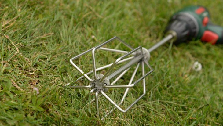 Cresta Baitmixers met een vlakke onderkant