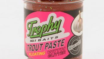 Bewezen flavours bij Trophy Baits Trout Paste & Trout Pellets