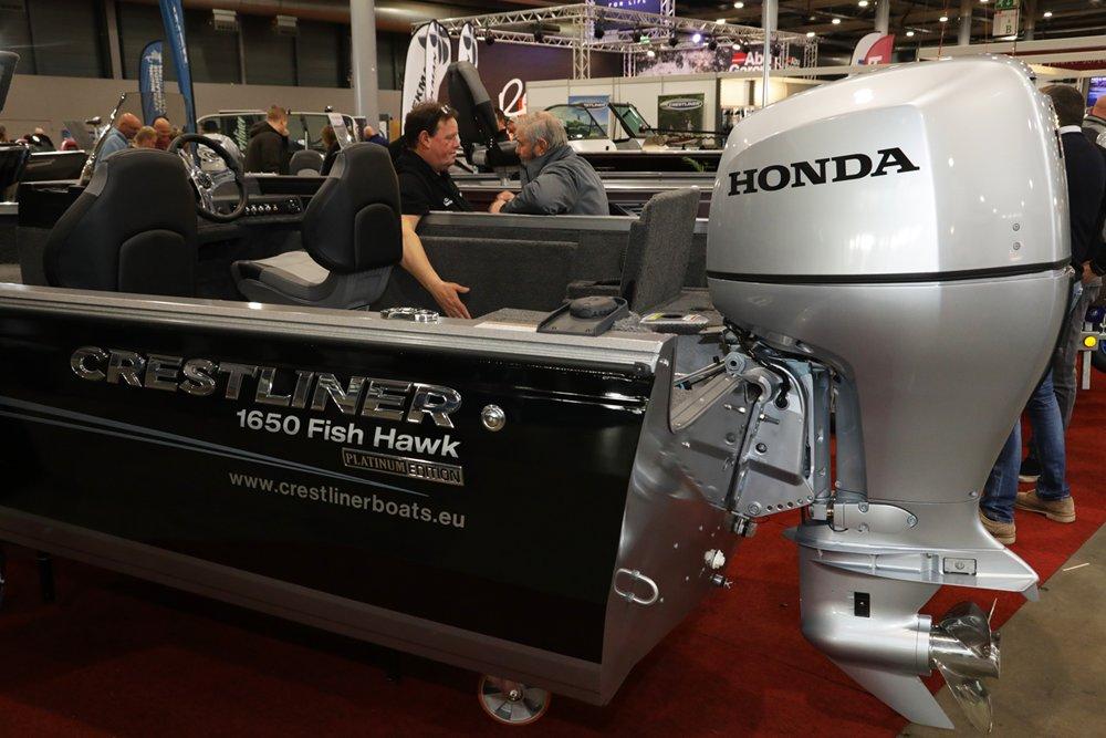 Voor elk budget was er op de beurs een visboot beschikbaar.