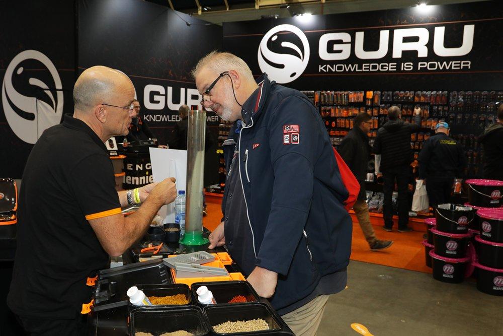 Guru kwam met diverse nieuwe producten voor het feedervissen.