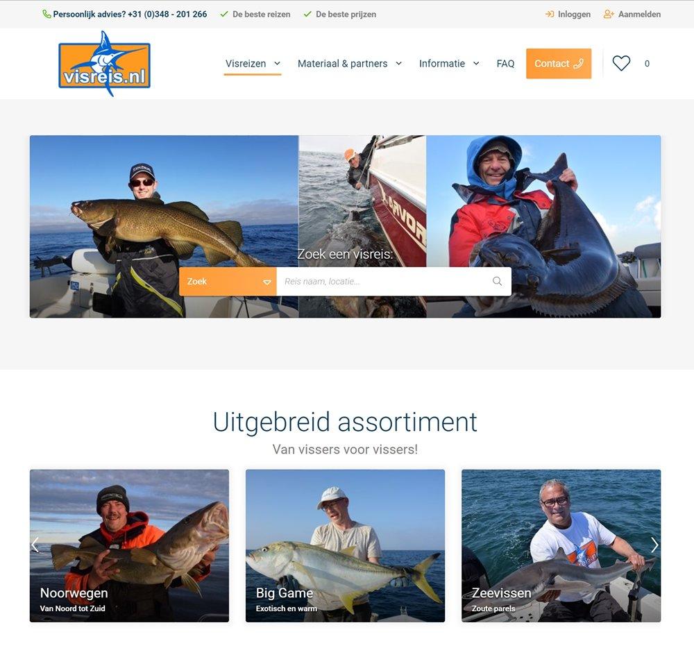 Visreis.nl heeft echt haar best gedaan om het boekingsproces voor de gasten te verbeteren.