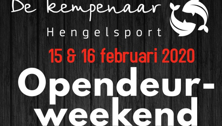 Opendeurdagen 2020 bij Hengelsport De Kempenaar!