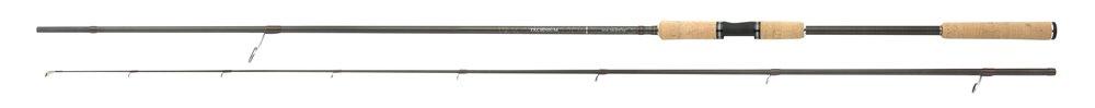 Vier tweedelige modellen van 2,76 tot 3,34 meter, eigen gewicht 140 tot 200 gram, werpvermogen 0,5 – 35 gram tot en met 15 – 45 gram.